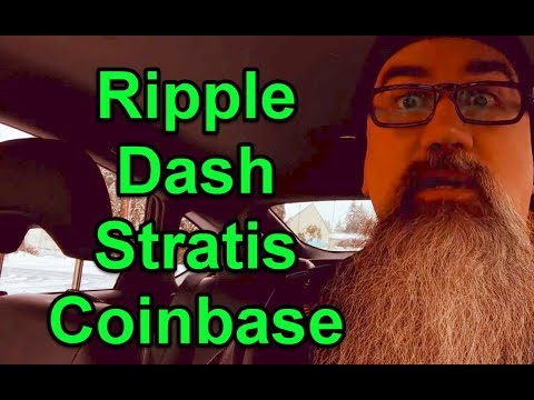 Rumors on Ripple, Dash and Stratis added to Coinbase