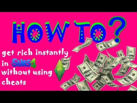 How to get rich instantly in The Sims 4 without using cheats