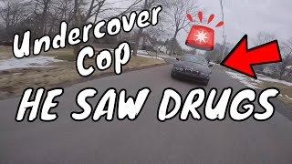 Cops Chase Dirt Bike With Stolen Drugs