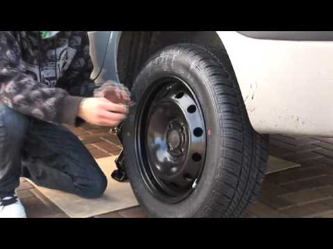 How to Change a Car Wheel - by George Upson