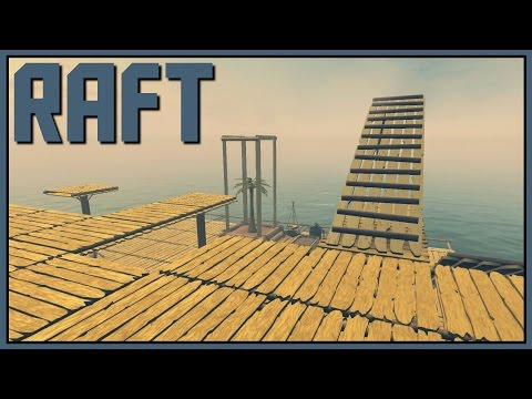 Going Up - Raft Gameplay - Part 5 [Let's Play Raft Game / Raft Gameplay]