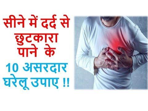 सीने में दर्द से छुटकारा  पाने  के 10 असरदार घरेलू उपाए !! Ayurveda Home Care