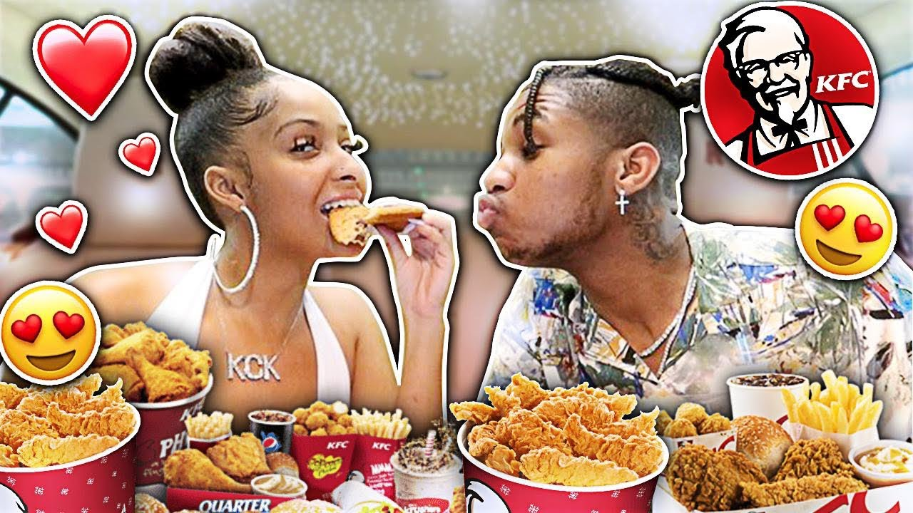 Are We Together??? Are We Having Kids??? | KFC MUKBANG WITH KENNEDY!!