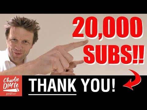 20,000 Subscribers - a Massive THANK YOU