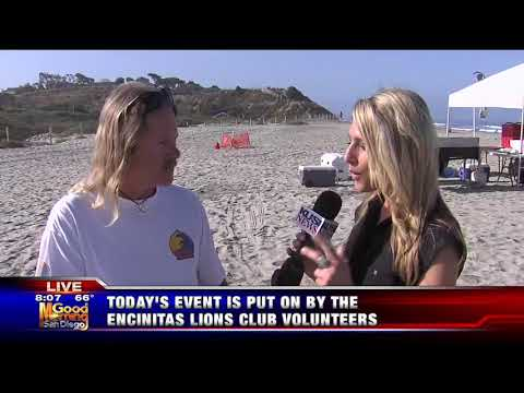 KUSI News Good Morning San Diego Showcases Blind Surf Event