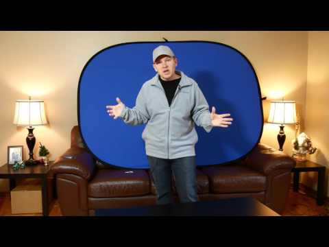 Impact 5x7 Collapsible Chromakey Green & Chromakey Blue Background Unboxed & Initial Impressions