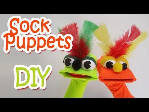 DIY Crafts :  Sock Puppets - Ana | DIY Crafts