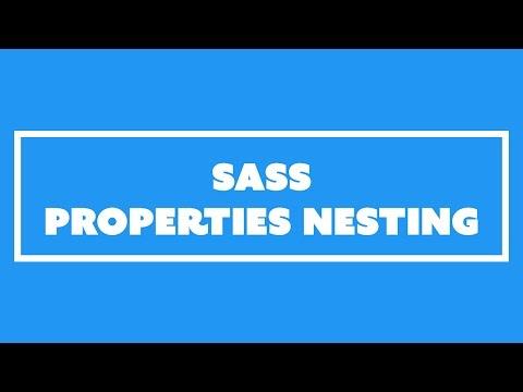 Sass Properties Nesting & BEM Style Nesting