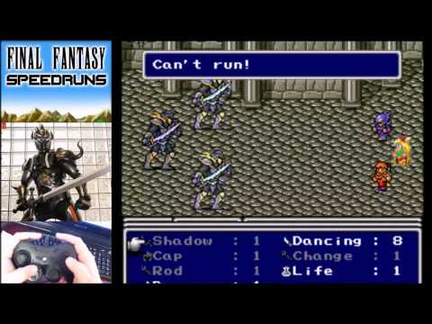 Final Fantasy IV Paladin% Speedruns Mini-Tutorial