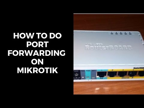 How to do Port Forwarding On Mikrotik (Remote Desktop Connection)[FULL HD/1080p]