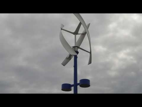 Greg Zanis Shows Off A Very Nice New Style Electric Windmill In Naperville Illinois Clean Energy