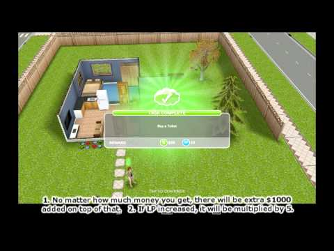 How to get more Gold/LP/XP in SimsFreePlay using FREE xmodgames! (Android)