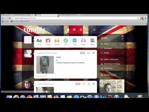 Tumblr Background Tutorial