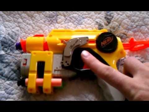Nerf gun mod: magnetic holster