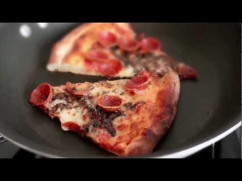 Magic Pizza Reheat Method! - How to Get Crispy Crust on Leftover Pizza!