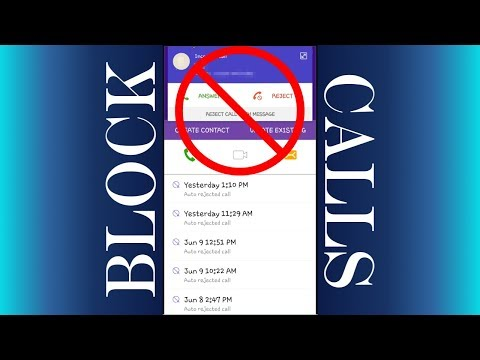 How To Block Calls on Android 7 | How to Block A Number on Android 7 | Manage Call Block List