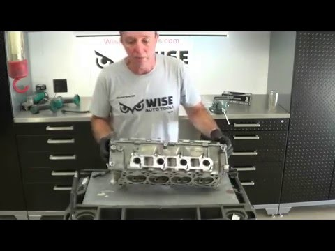 Why Valves Should Be Closed - Ford Spark Plug Thread Repair