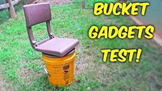 5 Gallon Bucket Gadgets put the Test! - Part 2