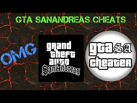 How to use Cheats on GTA Sanandreas Android  (no root)