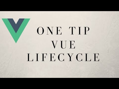 1 TIP YOU NEED TO KNOW ON VUE LIFECYCLE HOOKS!