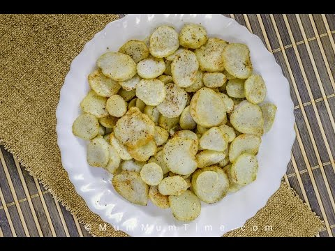 Fried Arbi Recipe | Taro Root Chips Recipe | Navratri Recipe