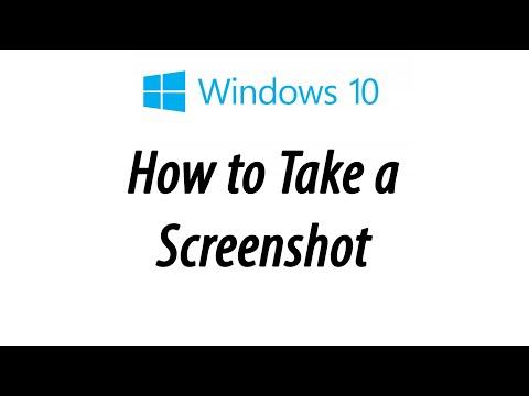 Windows 10 - How to Take a Screenshot or Capture a Certain Area
