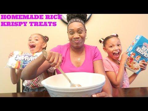 Microwaveable Homemade Rice Krispy Treats