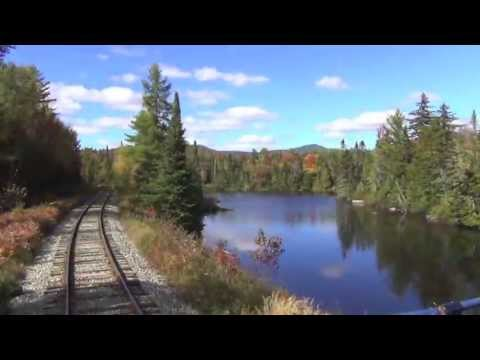 Fall Foliage Train by Ric Peterson