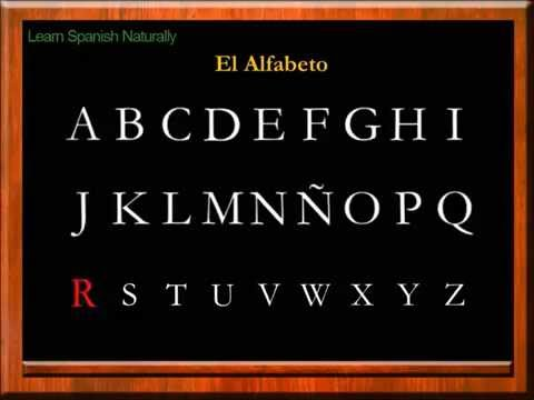 The Alphabet in Spanish | Learn the Alphabet in Spanish | The Letters in Spanish