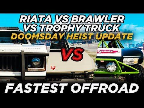 Riata vs Brawler vs Trophy Truck