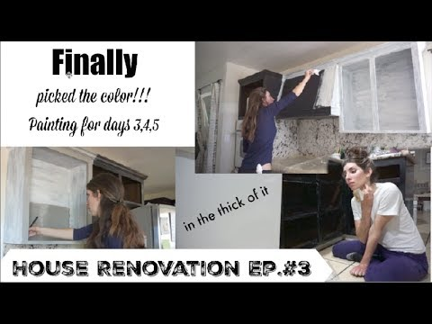 Diy Home Reno Update #3 | Painting the Kitchen Finally! | Momma From Scratch