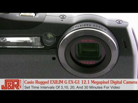 Casio Rugged EXILIM G Digital Camera Review