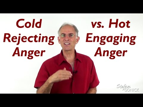 Cold Rejecting Anger versus Hot Engaging Anger - EFT Love Talk Q&A Show