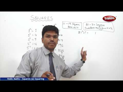 Squares in vedic maths | Speed Maths | Vedic Mathematics