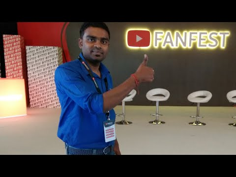 Youtube Fanfest Crater Camp Live From Delhi