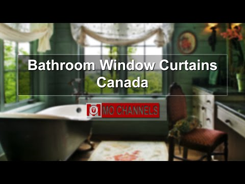 Bathroom Window Curtains Canada