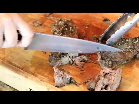 Carving a Beef Pot Roast : Roast Beef Recipes