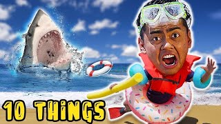 10 Things Not To Do At The Beach..