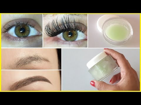 How To Grow Long, Strong, Thicker Eyebrows & Eyelashes In Just 7 Days | 100% Working