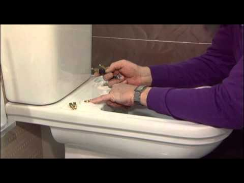 How to replace a Sottini Reprise toilet seat