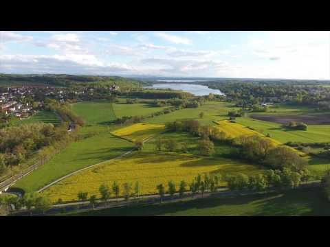 Drohnenflug über das Fünfseenland - Das Aubachtal ist mehr!