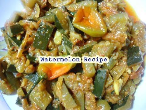 watermelon recipe in hindi english