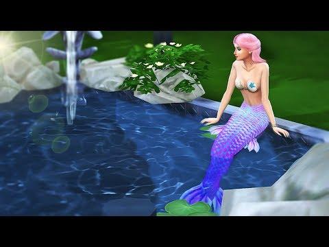 Mermaid Secret - Part 3 - A mermaid Story | Sims 4 Machinima
