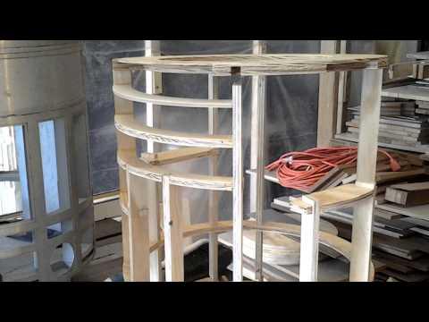 R2D2 wooden frame construction tips .