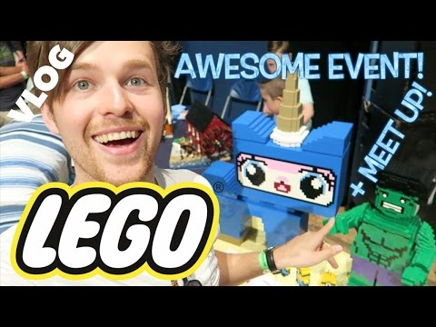 VIP LEGO EVENT?! GLASGOW MEET UP! VLOG!