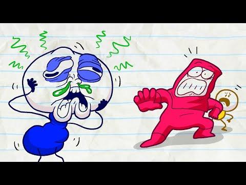 The End of Pencilmate!?!? -in- SICK FLICK - Pencilmation Cartoons