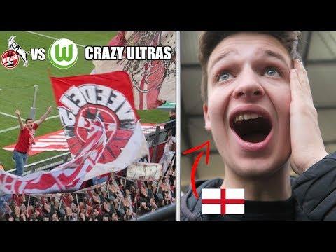 ENGLISH FAN EXPERIENCES FC KÖLN vs WOLFSBURG ATMOSPHERE!!