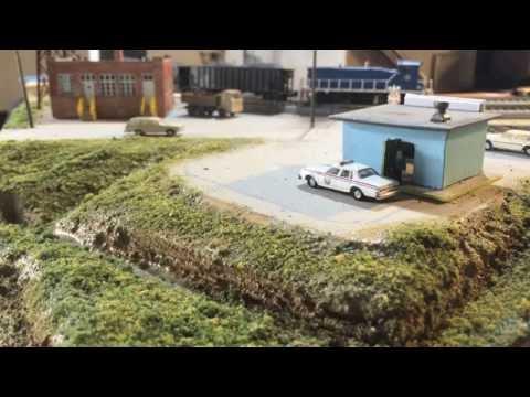 Model Railroad Track Planning for interesting scenery