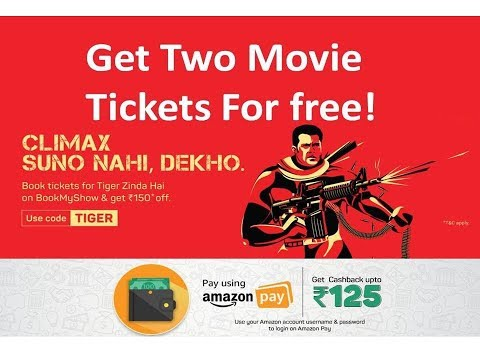 Free! Free! Free! Must Book Book movie Tickets for Free  At Rs150+50%+50% Off