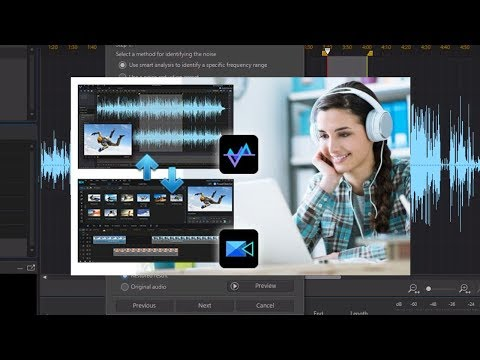 How to Use CyberLink AudioDirector 8 || How to remove audio noise in AudioDirector